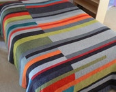 Mid-Century Modern Quilt (Take 2) - Made to Order