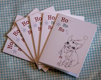 SET of  6 Holiday Greeting Cards (Your Choice)