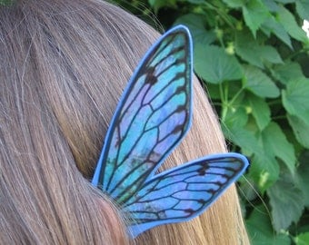 Fairy Fae Ear Wings in Blue