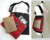 crossbody bag, messenger tote bag, school bag, book bag, laptop messenger bag ,womens handbag, crossbody handbag, ready to ship