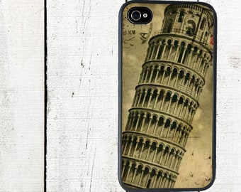 Leaning Tower of Pisa Phone Case for  iPhone 4 4s 5 5s 5c SE 6 6s 7  6 6s 7 Plus Galaxy s4 s5 s6 s7 Edge