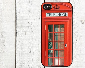 London Telephone Booth Phone Case for  iPhone 4 4s 5 5s 5c SE 6 6s 7  6 6s 7 Plus Galaxy s4 s5 s6 s7 Edge