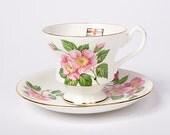 Windsor Rose Tea Cup & Saucer