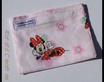 Eco Friendly Re-useable Snack Bag - Minnie Mouse