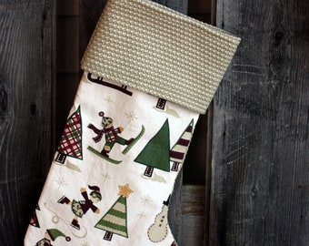 Clearance - Handmade Christmas Stocking