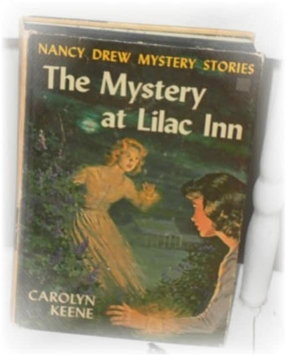 Vintage 1961 Nancy Drew The Mystery at Lilac Inn Hardcover Book