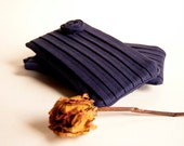 Wedding Clutch Purse, Bridesmaid Gift Idea Clutch, navy blue, Romantic Rose