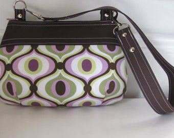 Feeling Groovy Mini Zippered Handbag