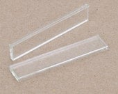 20pcs 10x51mm glass for 12X53mm pendant or ring