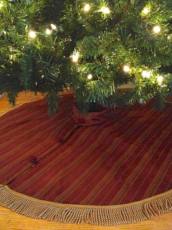 Gold Christmas Tree Skirts