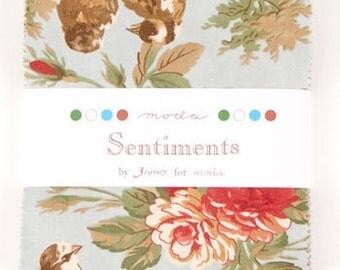 Sentiments - Moda Charm Pack