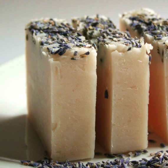 Lavender Fields Olive oil Soap Bar (Vegan) (Palm Free)