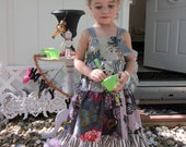 A Twisted Fairytale Tiered Knot Dress Pick Your Size 12 months to 6 years