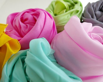 Play Silk Custom Set of 6 Single Color Silks : Choose Your Colors (Set of 6, 35 x 35 inches)