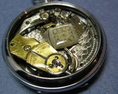 Resin Encased Watch Parts Steampunk Inspired 11