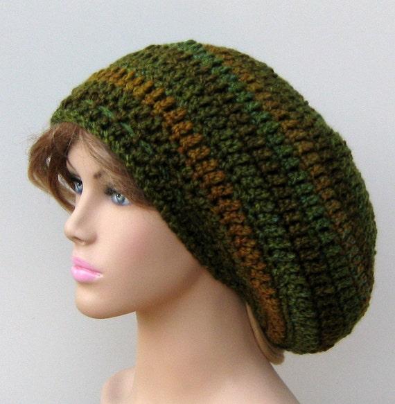 b7a8732f69b5f ... Crochet Hat Dreads Reggae  Ozark Forest Slouchy Hat Small Tam Dread  Hippie Slouchy