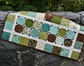 Quilted Patchwork Table Runner, handmade