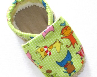 Resort Friends Soled Baby Shoes NB