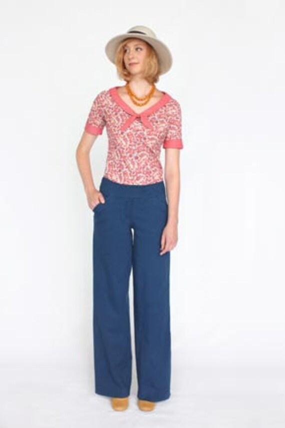 Colette Sewing PATTERN - Juniper - Pants