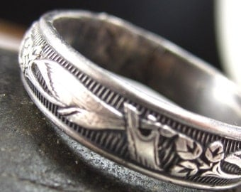 Floral Sterling Ring
