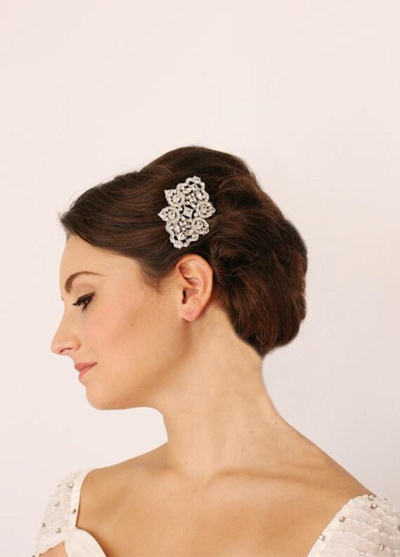 Gatsby Headpiece, Art Deco, Jewel, Diamante, Bridal Headpiece