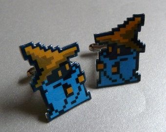 black mage - final fantasy cufflinks
