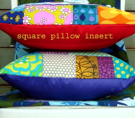 Reserved for Matt - CUSHION INSERT PAD for oblong pillow - shop customers only