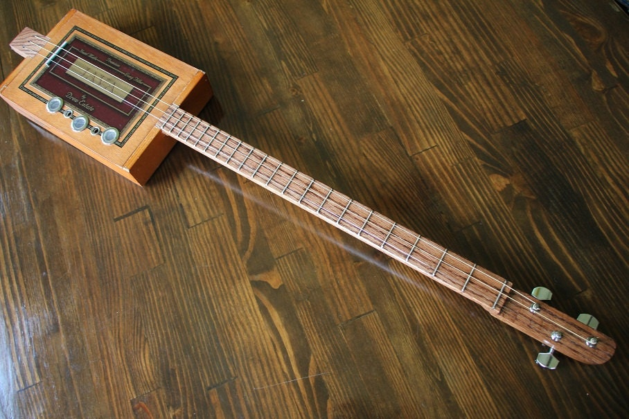 cigar box guitar 3 string. Black Bedroom Furniture Sets. Home Design Ideas