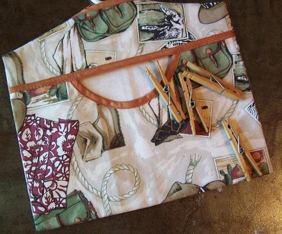 Clothespin Peg bag carrier World Traveler Free Shipping