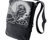 Dragon Military Style black Ipad Bag