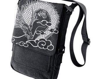 Dragon Military Style black Ipad Bag