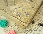 100 Silver Plated Earring Wires by Annie Howes