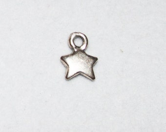 Sterling Silver Petite Star Charm Cele037ss