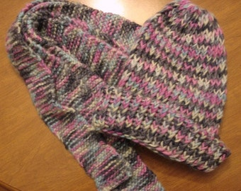 mellow beanie hat and scarf set