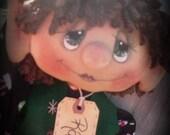 Primitive Christmas Ralphie the Elf INSTANT DOWNLOAD PATTERN #134 Hafair Faap