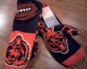 Custom fleece Chicago Bears fleece mittens all sizes