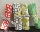 Set of 7 The Original Perfect Bridesmaids Travel Jewelery Rolls Wallet Free Shipping