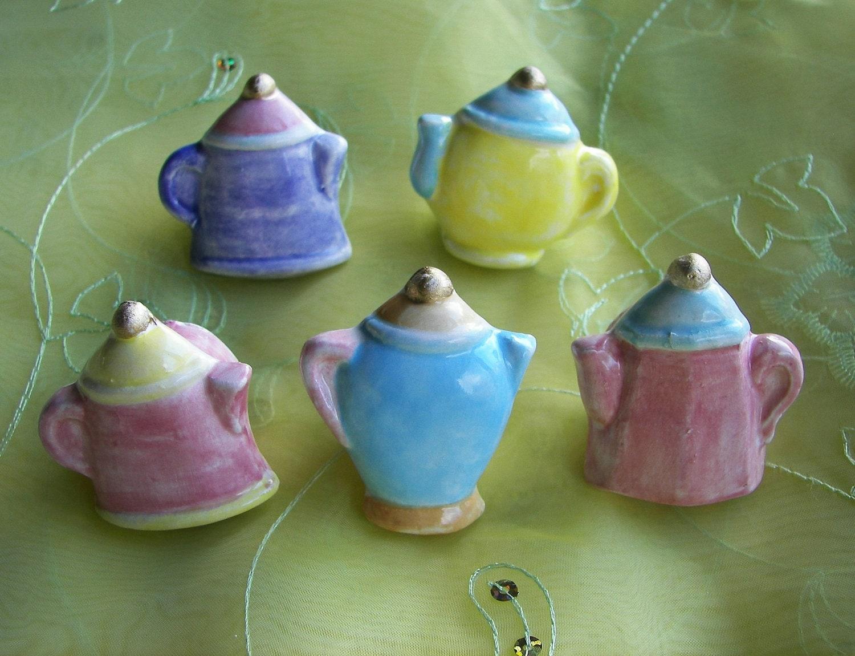 Tea Pot Knobs Drawer Pulls Kitchen Hardware Trendy Home Decor