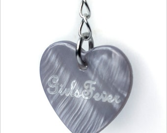 100 Custom heart or round shaped tags / labels personalized labels for your jewelries