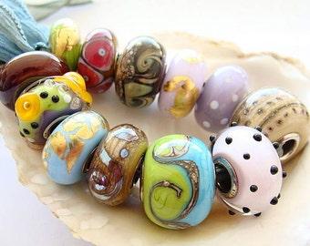 12 Big Hole Beads