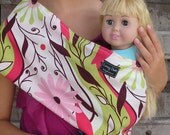READY TO SHIP-Just Like Mommy Baby Doll Sling- Up & Down-Free Shipping When Purchased With A Wrap