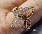 Wire Wrap Crystal Ring Pa...