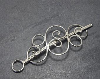Metal Hair Barrette