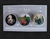 P08 More Tentacles Pin Set