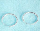10 mm Tiny Cartilage Hoop, 925 Sterling Silver Hoop Earrings, Round Hinged Hoop, Upper Earring Body Jewelry, Tragus Helix Nose Lip Piercing