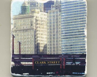 Clark Street Bridge -  Original Coaster