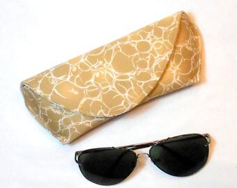 Sunglass Case or Eyeglass Case Large - Gold Strike