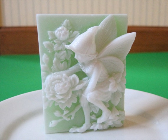 Soap. Fairy of the Peonies with fragrance of Butterfly Meadows. Vegan.