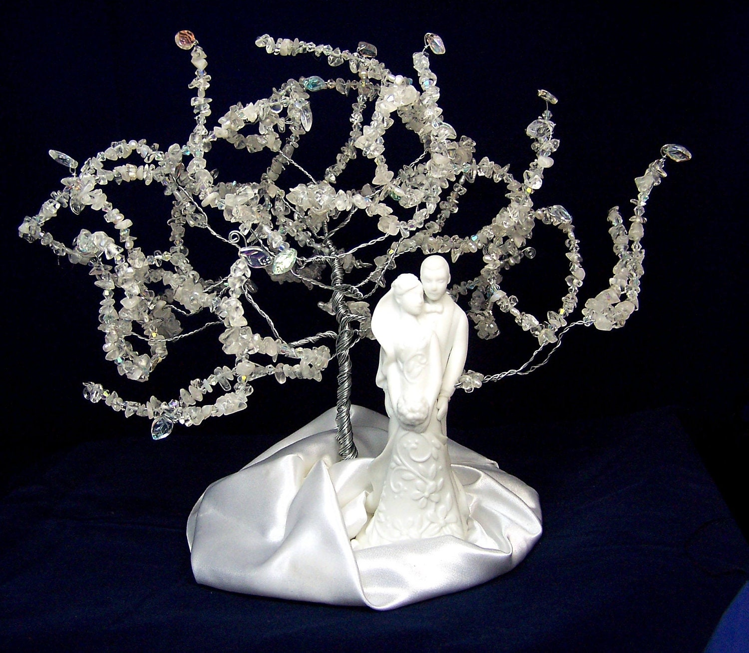 Items similar to Wedding Cake Topper Tree of Life