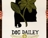 DOC DAILEY hand-pulled silkscreen printed show poster